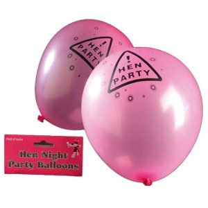 Hen Night Balloons Pink