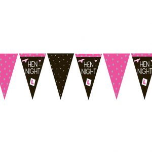 Hen party flag bunting