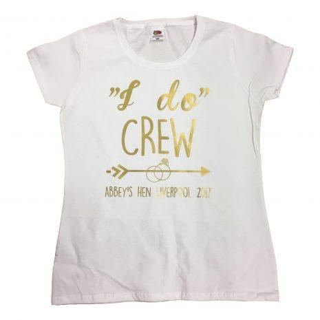 I do crew t-shirt arrow ring