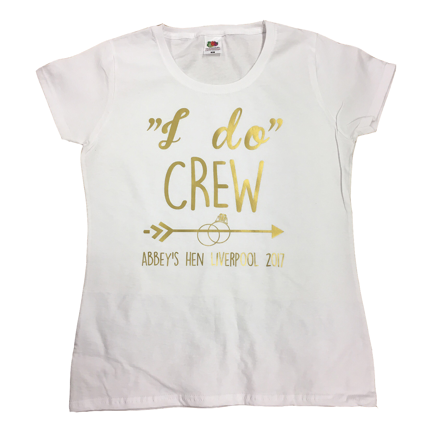I do crew arrow ring t shirt hen party t shirts for Hen party t shirts