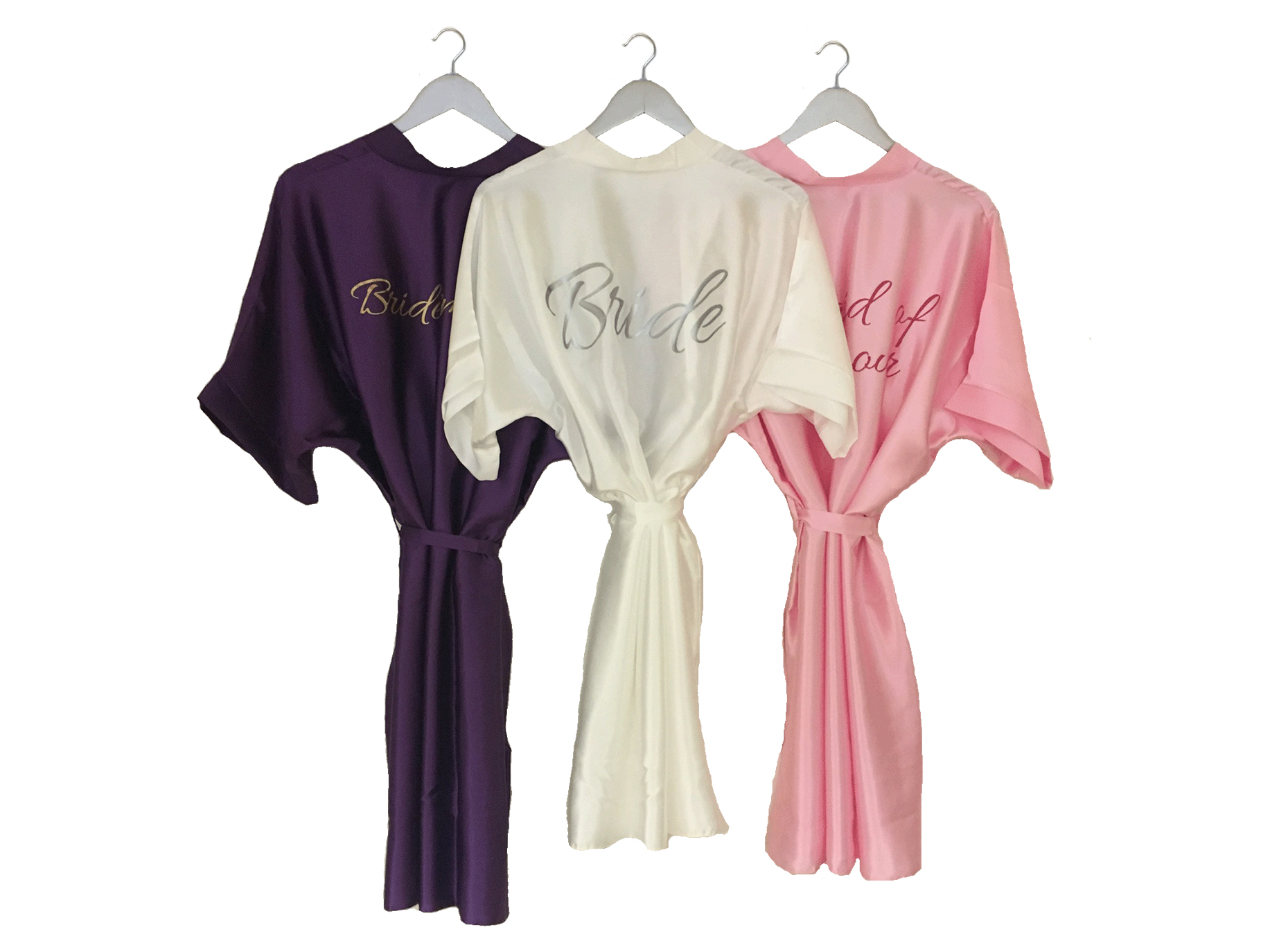 Bridal Dressing Gowns | Personalised Dressing Gowns | Forever Memories