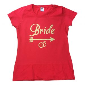 bride arrow ring t-shirt