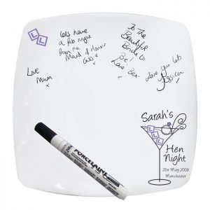 Personalised Hen Night Message Plate