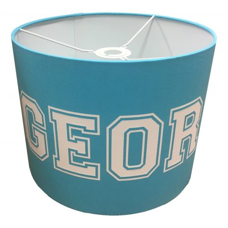 Personalised Boys Light Shade Blue
