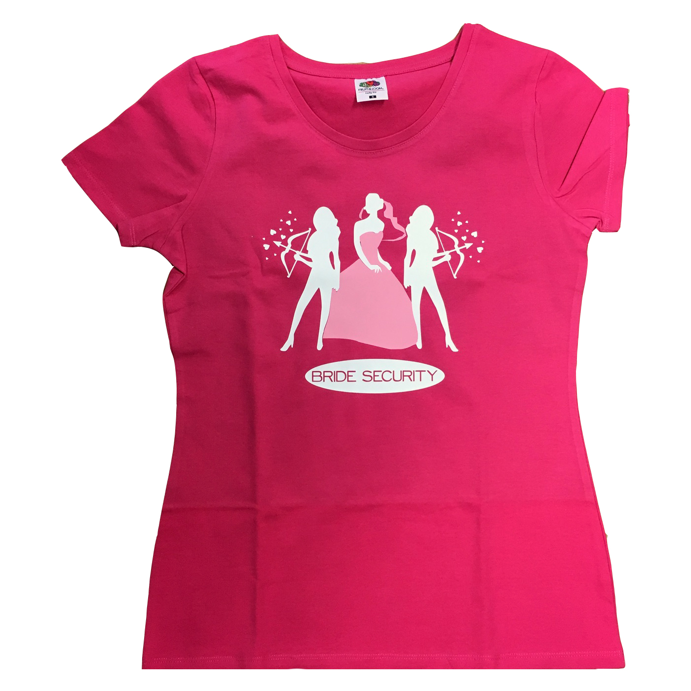 Bride security t shirt hen party t shirts forever memories for Hen party t shirts
