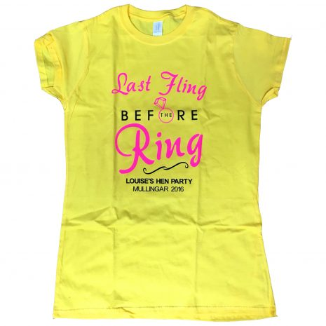 last-fling-before-the-ring-yellow-tshirt