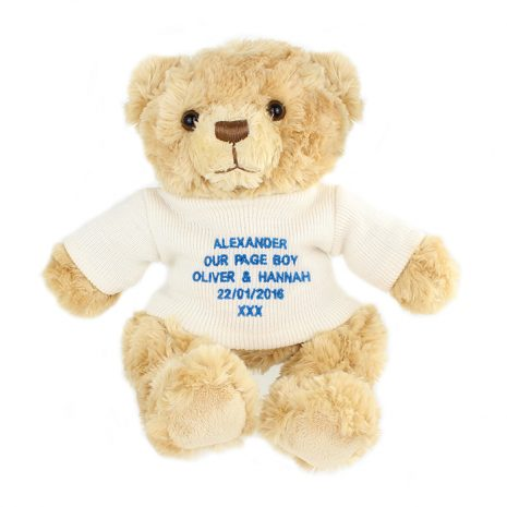 personalised-blue-teddy-message-bear