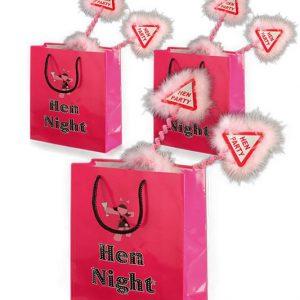 Set of 3 Hen Night Goodie Bags