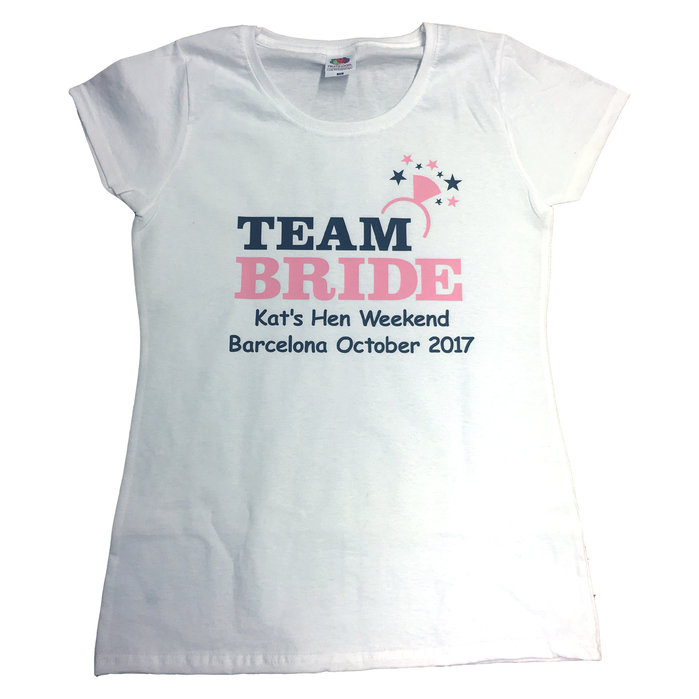 4d8b947f Team bride ring t-shirt   Hen party t-shirts   Forever Memories