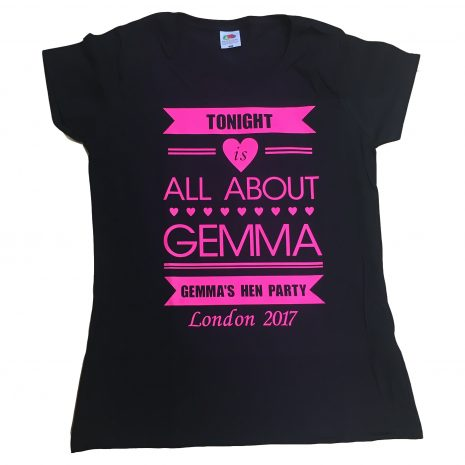 tonight is all about t-shirt