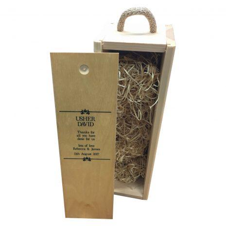 usher wine box