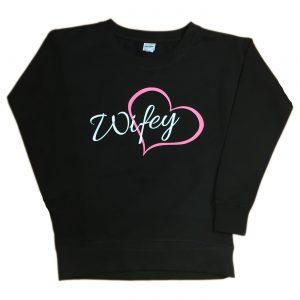 Wifey Heart Sweatshirt