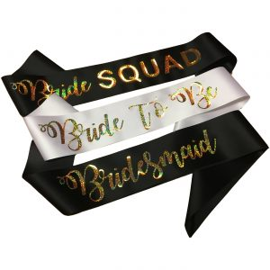 Personalised Holographic Sashes