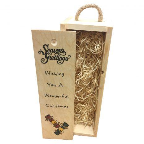 Wishing you a wonderful Christmas wine box