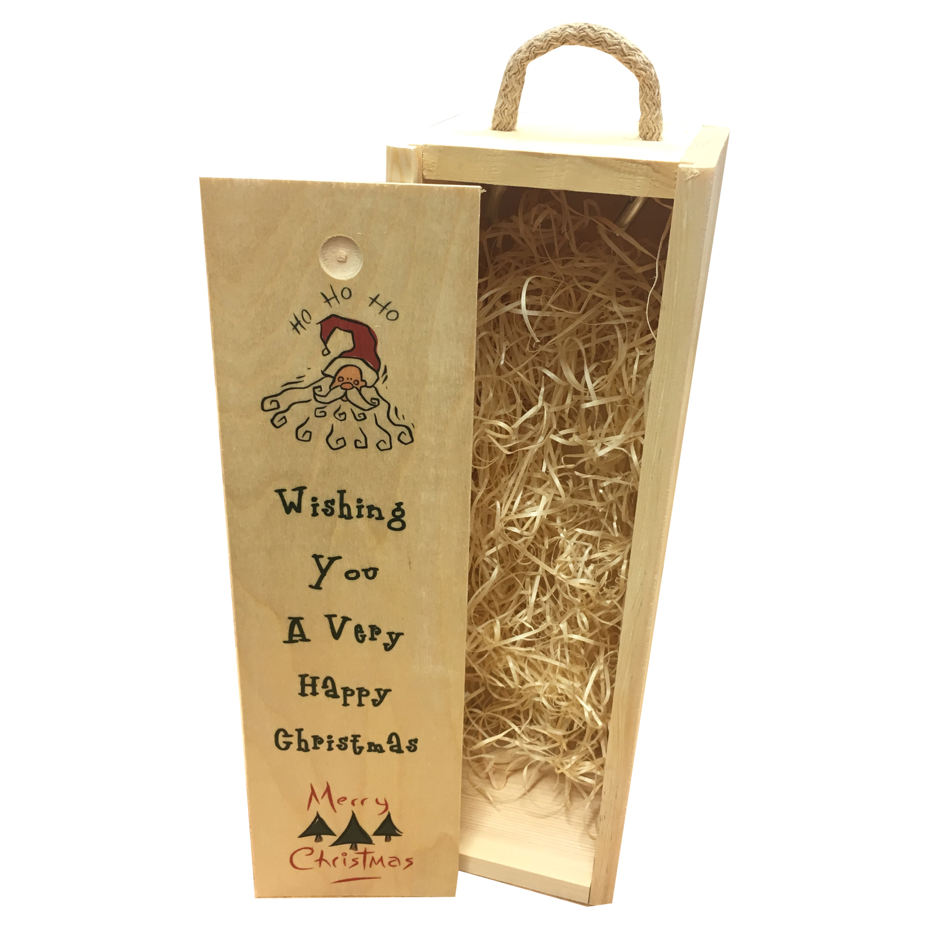 Wishing you a very happy Christmas wine box