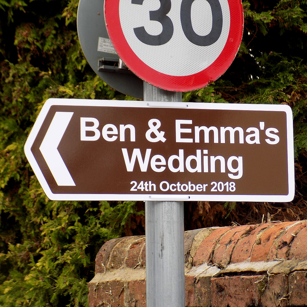 Wedding Direction Sign Weddding Signage Forever Memories