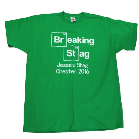 breaking stag t-shirt