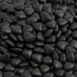 black mini heart dragees