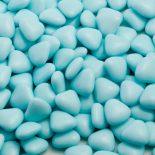 blue mini heart dragees