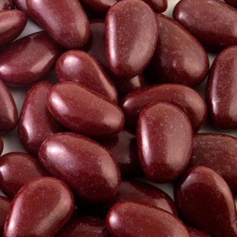 burgundy almonds