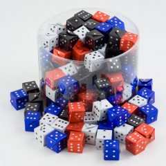 foil wrapped dice