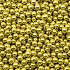 gold sugar balls