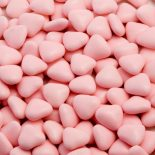 pink mini heart dragees