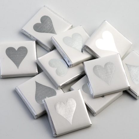 silver milk chocolate neapolitans