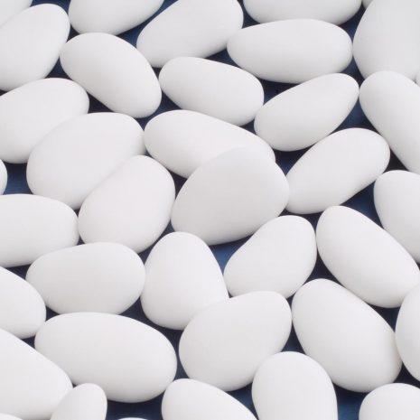 white almonds