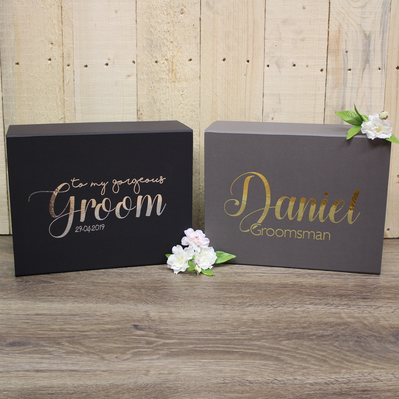 Wedding Gift From Groomsmen: Wedding Gift Boxes