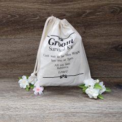 groom survival kit