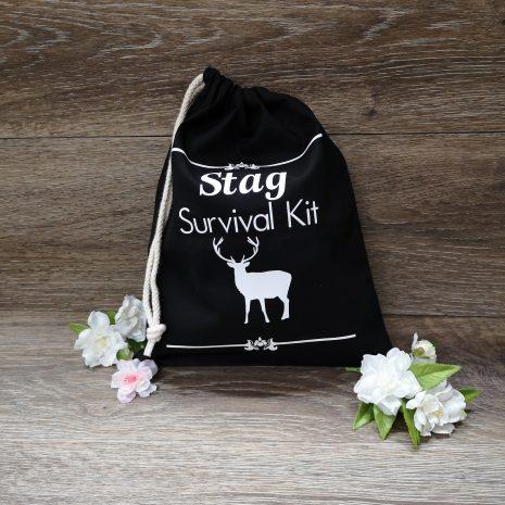 stag survival kit bag