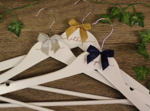 Personalied Wedding Hangers