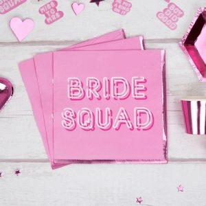 Bride Squad Paper Napkin