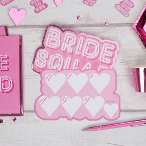 Bride Squad Hen Party Advice Cards