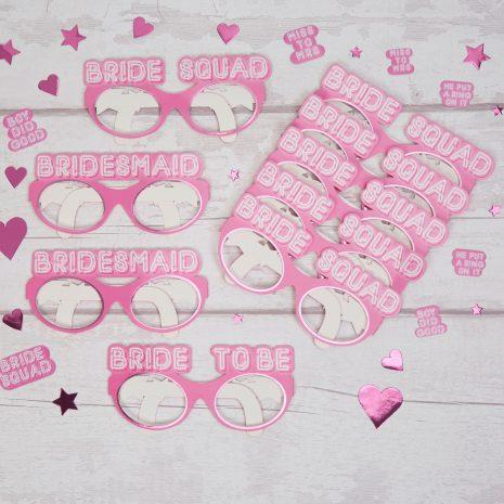 Bride Squad Hen Party Glasses