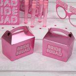 Bride Squad Mini Favour Box