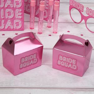 Bride Squad Mini Favour Box