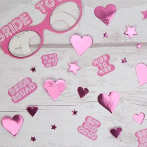 Bride Squad Hen Party Table Scatters