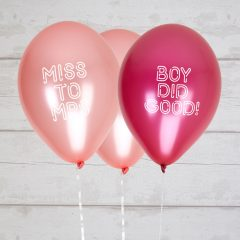 Boy Did Good & Miss to Mrs Balloons