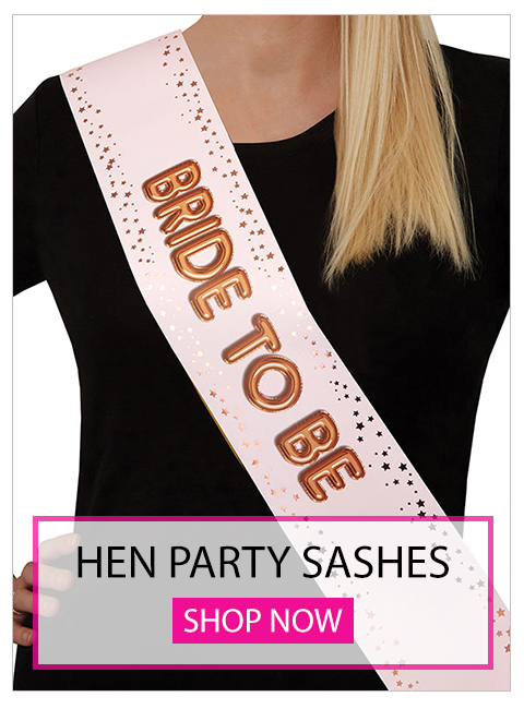 hen party sashes