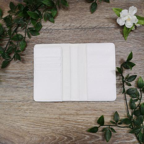 passport holder white