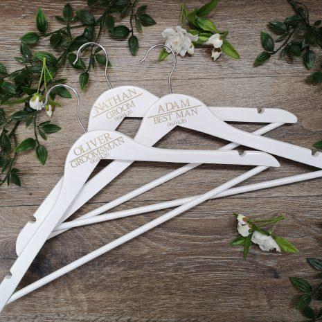 hangers-groom