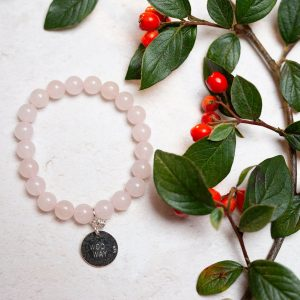 Rose Quartz Woo Way Bracelet Forever Memories