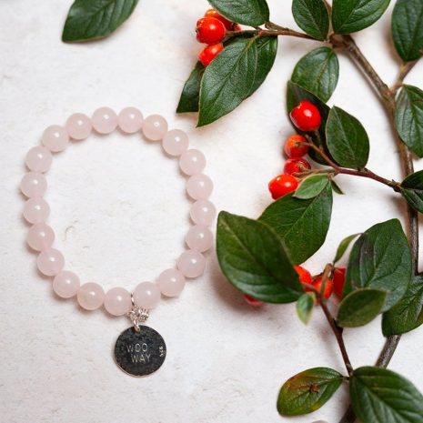 Rose Quartz Woo Way Bracelet Forever Memories